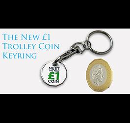 Trolley Coin Keyrings
