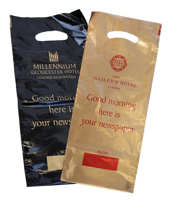 Plastic Newspaper Bag