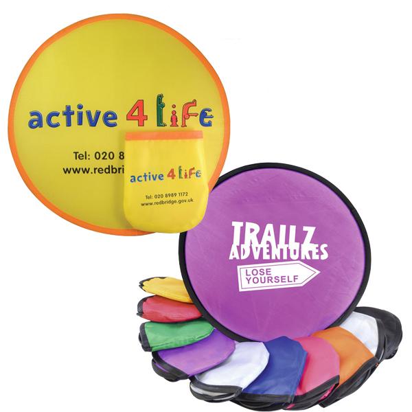 Folding Frisbee